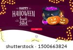 happy halloween  trick or treat ... | Shutterstock .eps vector #1500663824