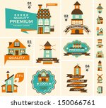 address,apartment,architecture,badge,banner,blue,building,business,button,cartoon,church,city,collection,construction,decorating