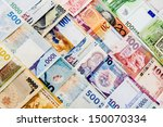 currency paper  banking and... | Shutterstock . vector #150070334