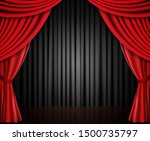 background with red and black... | Shutterstock .eps vector #1500735797