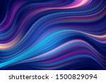 modern colorful blue flow... | Shutterstock .eps vector #1500829094