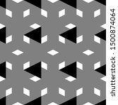 triangles  rhombuses pattern.... | Shutterstock .eps vector #1500874064