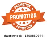 promotion ribbon. promotion... | Shutterstock .eps vector #1500880394