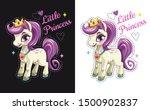 little princess. cartoon pretty ...   Shutterstock .eps vector #1500902837