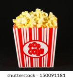 movie theater popcorn | Shutterstock . vector #150091181