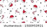 christmas seamless pattern...   Shutterstock .eps vector #1500953921