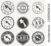 laos travel stamp made in... | Shutterstock .eps vector #1500960614