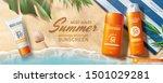 Summer Sunscreen Spray And...