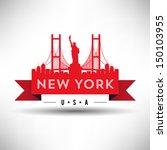america,architecture,artwork,background,bridge,brooklyn bridge,building,city,cityscape,coast,dark,design,downtown,emblem,front