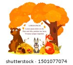illustration of autumn in the... | Shutterstock .eps vector #1501077074