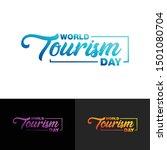 world tourism day design vector | Shutterstock .eps vector #1501080704