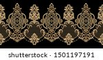 decorative elegant luxury... | Shutterstock . vector #1501197191
