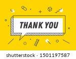 Thank You. Banner  Speech...