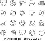 set of air line icons  purify ... | Shutterstock .eps vector #1501261814