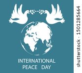 international day of peace. 21... | Shutterstock .eps vector #1501285664