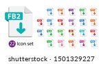 Collection Of Vector Icons....