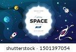 space exploration modern... | Shutterstock .eps vector #1501397054