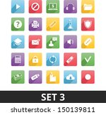 universal vector icons set 3...