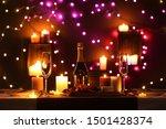 Romantic Dinner Table Setting...