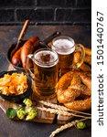 Oktoberfest Concept. Beer ...