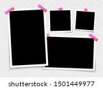 photo frame isolated on...   Shutterstock .eps vector #1501449977