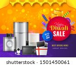 home appliance electronic sale... | Shutterstock .eps vector #1501450061