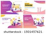 vector illustration flat... | Shutterstock .eps vector #1501457621