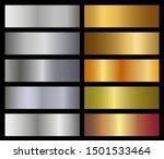 set of metallic gradients...   Shutterstock .eps vector #1501533464