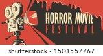 vector banner for festival... | Shutterstock .eps vector #1501557767