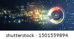 conceptual technology... | Shutterstock .eps vector #1501559894