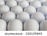 white golf balls in the box   Shutterstock . vector #150159845