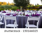tables  chairs  decor  and...   Shutterstock . vector #150166025