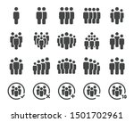 people and population icon set... | Shutterstock .eps vector #1501702961