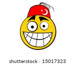 smiley icon turkish | Shutterstock . vector #15017323