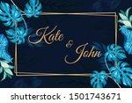 beautiful vintage floral... | Shutterstock .eps vector #1501743671