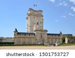 The Château de Vincennes (Vincennes Castle) is a massive 14th and 17th century French royal fortress in the town of Vincennes, to the east of Paris, now a suburb of the metropolis.