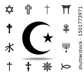 religion symbol  islam icon....
