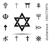 religion symbol  judaism icon....