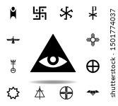 religion symbol  caodaism icon. ...