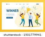 successful businessman... | Shutterstock .eps vector #1501779941