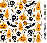 seamless vector pattern for... | Shutterstock .eps vector #1501821404