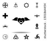 religion symbol  sufism icon.... | Shutterstock . vector #1501864454