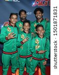 """Small photo of LOS ANGELES - SEP 10: V. Unbeatable at the """"America's Got Talent"""" Season 14 Live Show Red Carpet at the Dolby Theater on September 10, 2019 in Los Angeles, CA"""