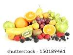 fresh fruits and berries... | Shutterstock . vector #150189461