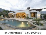 view of swimming pool and... | Shutterstock . vector #150192419