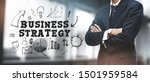 asian businessman on blurred... | Shutterstock . vector #1501959584