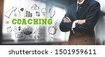 asian businessman on blurred... | Shutterstock . vector #1501959611