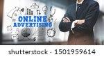 asian businessman on blurred... | Shutterstock . vector #1501959614