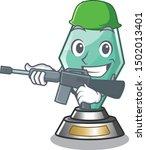 Army Acrylic Trophy Cartoon...