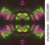 3d rendering abstract fractal...   Shutterstock . vector #1502021084